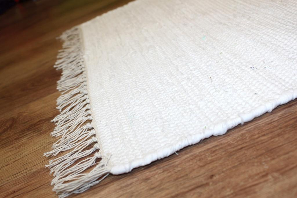 Rag Rugs Cotton White Rag Rugs